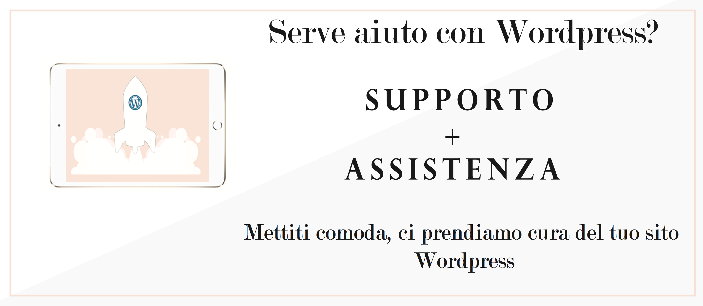 wp care manutenzione wordpress
